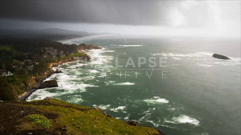 Time-lapse Oregon: Otter Rock