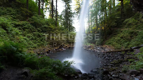 Time-lapse Oregon: Ponytail Falls
