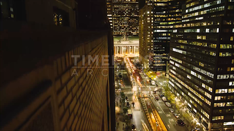 Time-lapse New York: Grand Central Day To Night