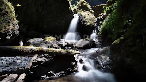 Time-lapse Oregon: Elowah Falls Jib Shot