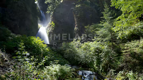 Time-lapse Oregon: Wahkeena Falls