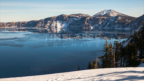 Time-lapse Oregon: Crater Lake