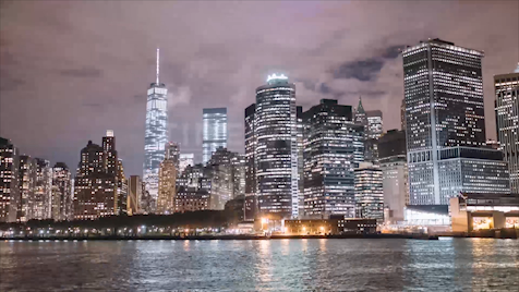 New York: Hudson River Hyperlapse