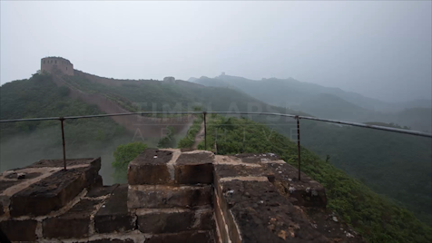 Time-Lapse China: The Great Wall Fog