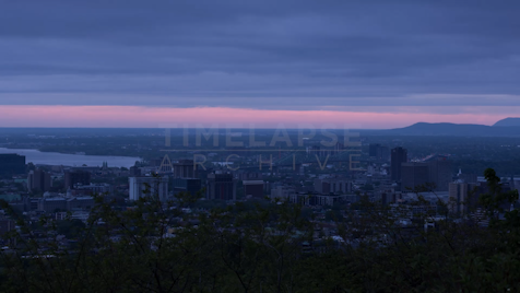 Time-lapse Montreal: Jacques Cartier Bridge & Skyline