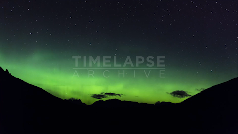 Time-lapse Banff: Aurora Rocky Mountains