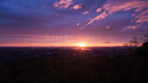Time-lapse Montreal: St. Lawrence Sunset