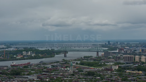 Time-lapse Montreal: Jacques Cartier Bridge