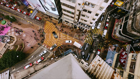 Time-lapse Hong Kong: Jardine's Bazaar From Above 1