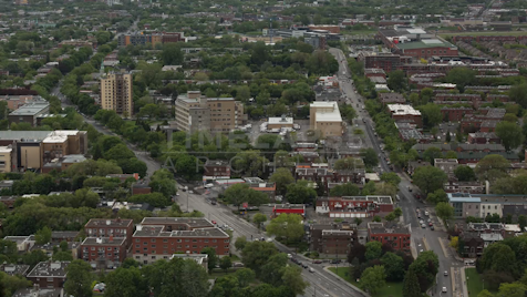Time-lapse Montreal: Rue Sherbrooke E From Above