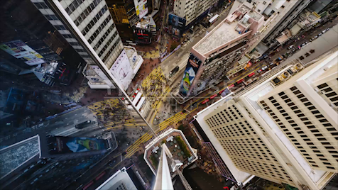 Time-lapse Hong Kong: Jardine's Bazaar From Above 2