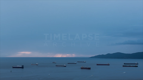 Time-lapse Vancouver: Boats In English Bay