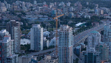 Time-lapse Vancouver: Granville Bridge
