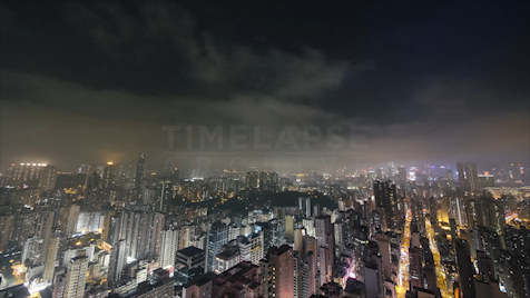 Time-lapse Hong Kong: Kowloon City Night