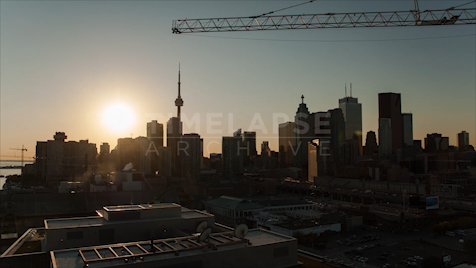 Time-lapse Toronto: Downtown Sunset