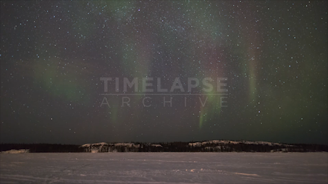 Time-lapse Northwest Territories: Aurora Starscape 1