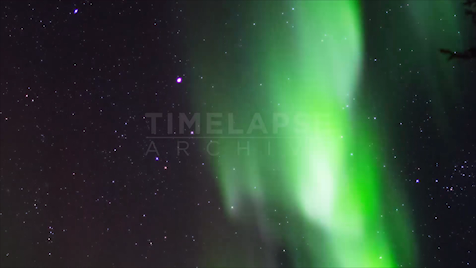 Northwest Territories: Aurora Starscape 2