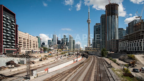 Time-lapse Toronto: Bathurst Street Bridge