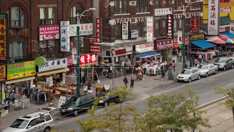 Time-lapse Toronto: Chinatown On Spadina