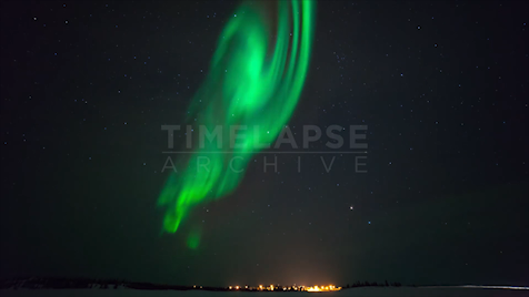 Northwest Territories: Aurora Tilt Up