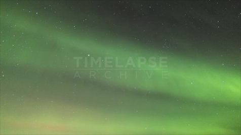 Time-lapse Northwest Territories: Aurora Green Diffuse