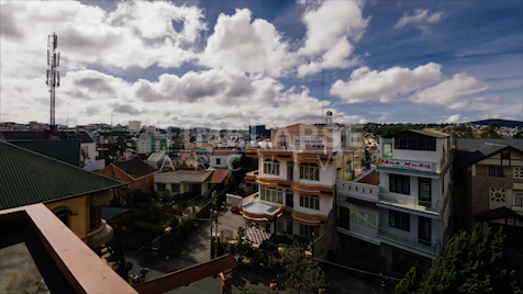 Time-lapse Da Lat: Rooftop View