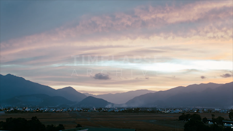 Time-lapse Nha Trang: Day To Night Mountain View