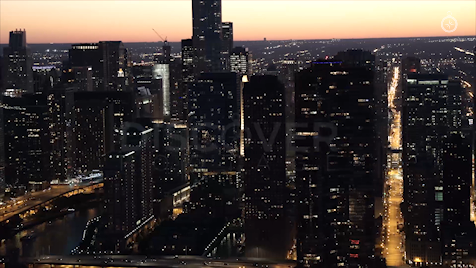 Chicago: Aerial Sunset 34