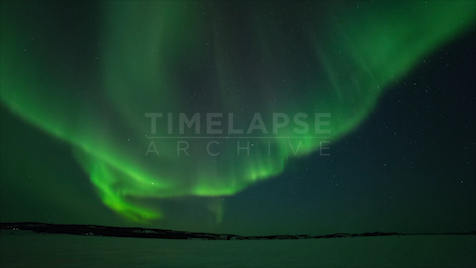 Time-lapse Northwest Territories: Aurora Open Shutter