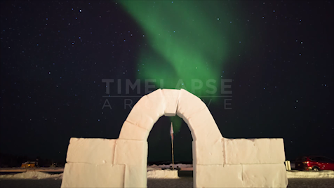 Time-lapse Northwest Territories: Aurora Tracking Arch