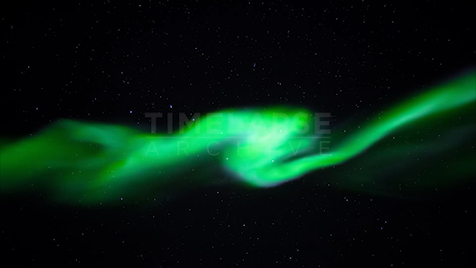 Time-lapse Northwest Territories: Aurora Directly Below