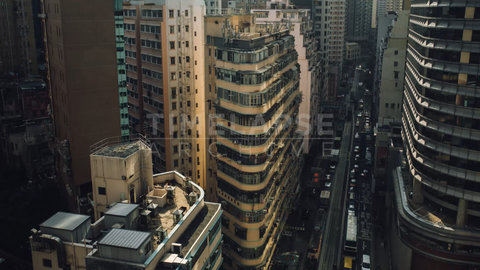 Time-lapse Hong Kong: Johnston and Fleming Rd (CU)