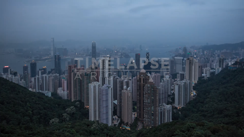 Time-lapse Hong Kong: Day To Night The Peak