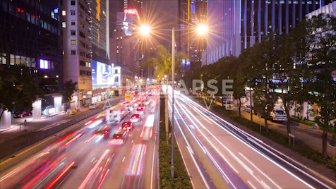 Time-lapse Hong Kong: Gloucester Road Night