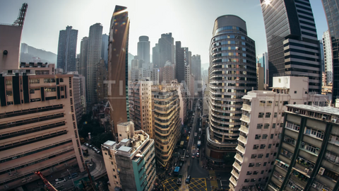 Time-lapse Hong Kong: Johnston & Fleming Fisheye
