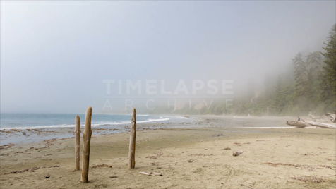 Time-Lapse Tofino: Big Beach Fog