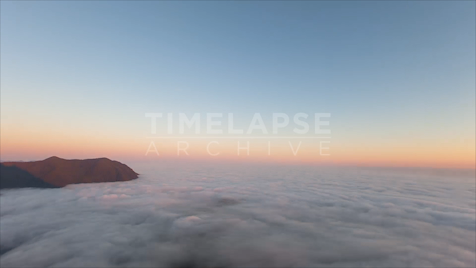 Time-Lapse Tofino: Lone Cone Cloud Cover 1