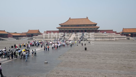 Time-lapse Beijing: Forbidden City Main Entrance