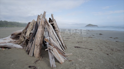 Time-Lapse Tofino: Long Beach Jib Shot