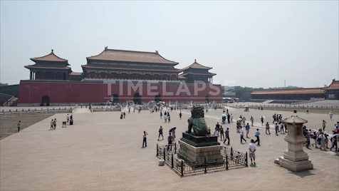 Time-lapse Beijing: Forbidden City Exterior