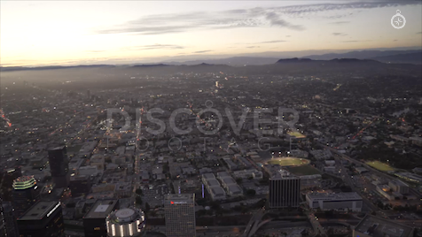 Los Angeles: Aerial Sunset 1
