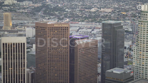 Los Angeles: Aerial Sunset 3