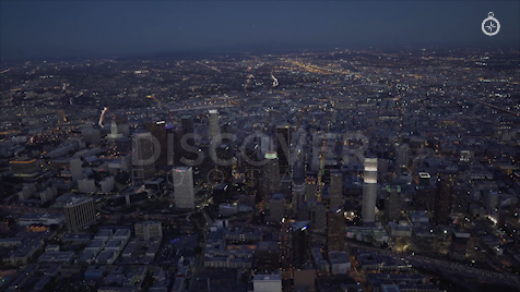 Los Angeles: Aerial Sunset 6