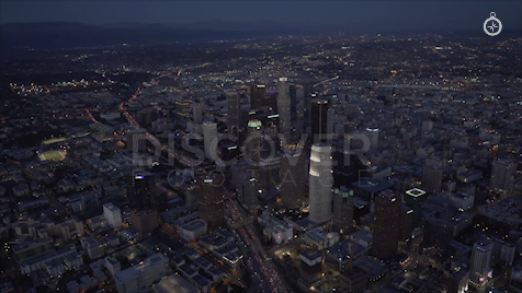Los Angeles: Aerial Sunset 7
