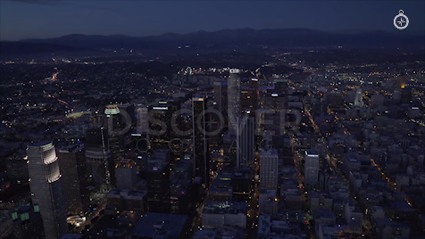 Los Angeles: Aerial Sunset 8