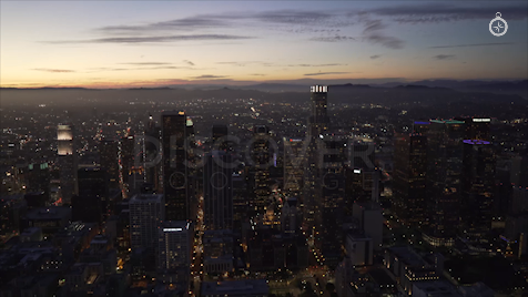 Los Angeles: Aerial Sunset 9
