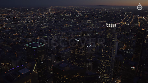 Los Angeles: Aerial Sunset 10