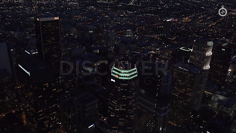 Los Angeles: Aerial Sunset 13