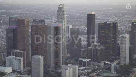 Los Angeles: Aerial Sunset 15