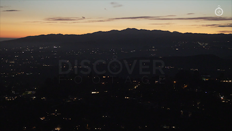 Los Angeles: Aerial Sunset 16